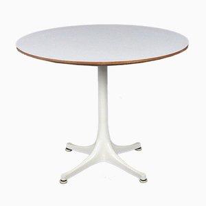 Table Modèle 5452 Blanc Mid-Century par George Nelson pour Herman Miller