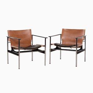 Fauteuils Modèle 657 par Charles Pollock pour Knoll International, 1970s, Set de 2