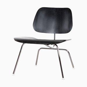 Sillón LCM vintage en negro de Charles & Ray Eames para Herman Miller