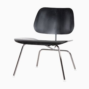 Vintage LCM Black Lounge Chair by Charles & Ray Eames for Herman Miller