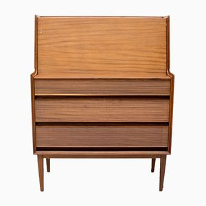 Mid-Century Afromosia Bureau by Richard Hornby for Fyne Ladye, 1960s