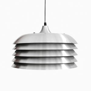 Lampada da soffitto in alluminio di Hans-Agne Jacobsson per Hans-Agne Jakobsson AB Markaryd, anni '60