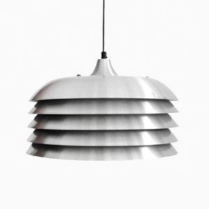 Lámpara de techo de aluminio de Hans-Agne Jacobsson para Hans-Agne Jakobsson AB Markaryd, años 60