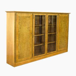 Vintage Wooden Veneer Cabinet, 1950s