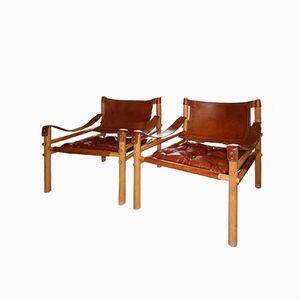 Chaises Sirocco par Arne Norell pour Norell Möbel AB, 1978, Set de 2