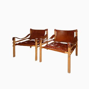 Sirocco Chairs by Arne Norell for Norell Möbel AB, 1978, Set of 2