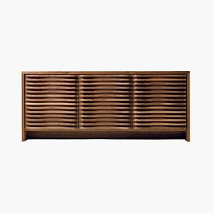 Oiled Natural Walnut VALORE Sideboard from DALE Italia