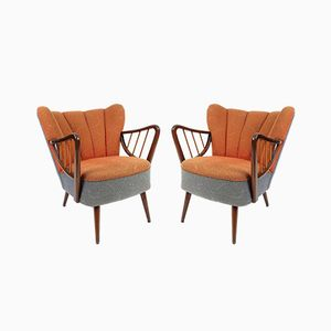German Lounge Chairs, 1960s, Set of 2
