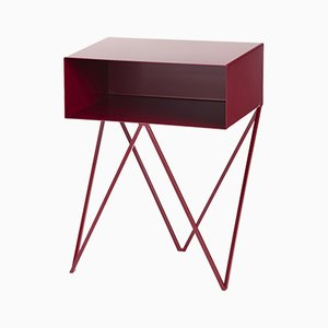 Table d'Appoint Robot Couleur Rouge Betterave par &New