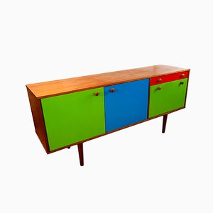 Painted Sideboard from Morris of Glasgow, 1950s