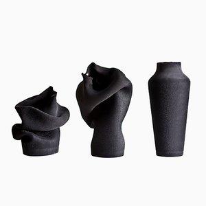 Vases Ashes par Studio B Severin, Set de 3