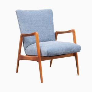 Cherrywood Lounge Chair, 1950s
