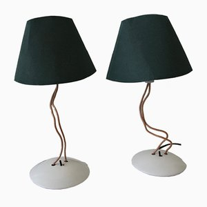 Olivia Table Lamps by Lucci & Orlandini for Segno Milano, 1980s, Set of 2