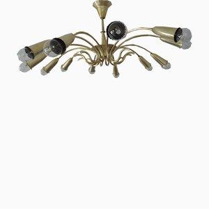 Mid-Century Sputnik Spider Lamp
