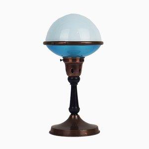 Lámpara de mesa Ilrin Art Déco modernista de L. Bosi & cie, años 30