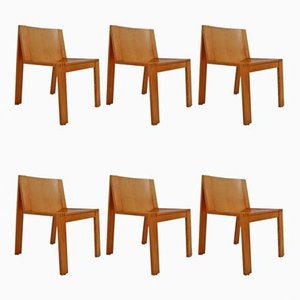 Dutch SE15 Dining Chairs by Pierre Mazairac and Karel Boonzaaijer for Pastoe, 1970s, Set of 6