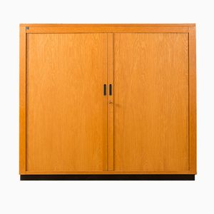 Cupboard with Tambour Door from Dobergo, 1960s