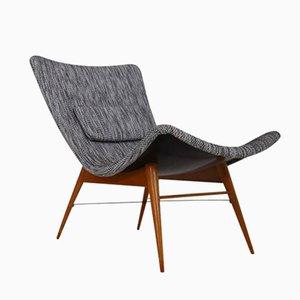 Lounge Chair by Miroslav Navratil for Cesky Nabytek, 1950s