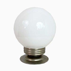 Opaline Ceiling Lamp, 1940s