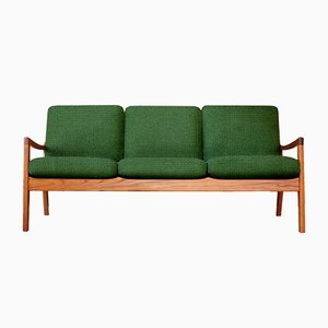 Customizable Vintage Teak Sofa by Ole Wanscher for France & Søn