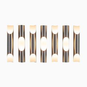 Fuga Wall Lights by Maija Liisa Komulainen for Raak, 1970s, Set of 3