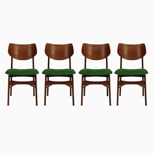 Customizable Hamar Dining Chairs by Louis van Teeffelen for Wébé, 1960s, Set of 4