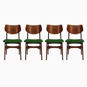 Personalisierbare Hamar Esszimmerstühle von Louis van Teeffelen für Wébé, 1960er, 4er Set