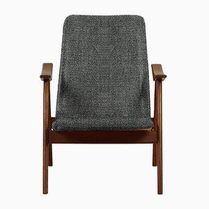 Personalisierbarer Sessel aus Teak von Louis van Teeffelen f