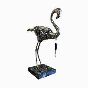 Vintage Flamingo-Skulptur von Mauro Manetti für Fonderia D'arte