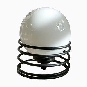 Kleine spiralförmige Vintage Tischlampe von Massive, 1970er