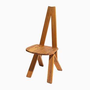 Vintage S45 Stühle von Pierre Chapo, 6er Set