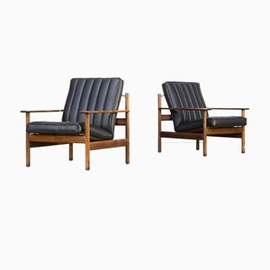 Lounge Chairs by Sven Ivar Dysthe for Dokka, 1960s, Set of 2