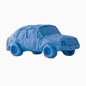 Blaubeerfarbener Keramik Car Kleinwagen von Keith Simpson für Fort Makers
