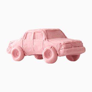 Erdbeerfarbene Keramik Car Limousine von Keith Simpson für Fort Makers
