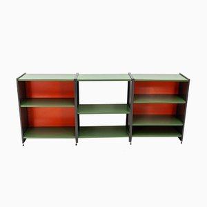 Storage modulare nr. 5600 in metallo di André Cordemeyer per Gispen, anni '60