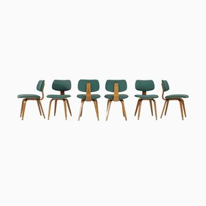 Chairs by Joe Atkinson for Thonet, 1950s, Set of 12