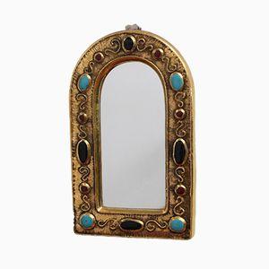 Specchio vintage in ceramica di François Lembo