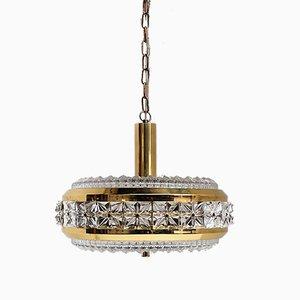 Hollywood Regency Glaslampe von Vitrika, 1960er