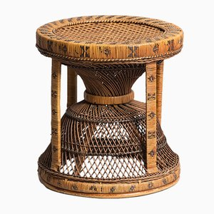 Wicker Stool, 1960s