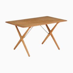 Tavolino da caffè AT 308 di Hans J. Wegner per Andreas Tuck, anni '50