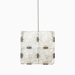 Lampe à Suspension Cube, République Tchèque, 1960s