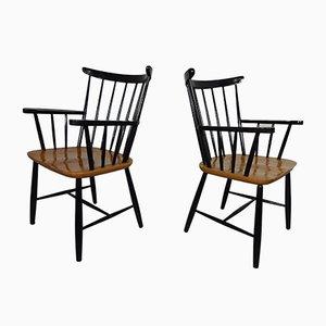 Vintage Sessel von Ilmari Tapiovaara, 2er Set