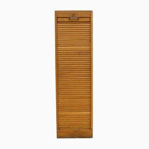 Vintage Industrial Oak Front Cabinet