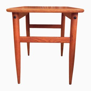 Mid-Century Danish Side Table by HMB Mobler, 1960s