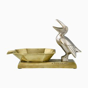 Art Deco Bronze Ashtray