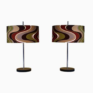 Large Vintage Table Lamps from RAAK, 1960s, Set of 2