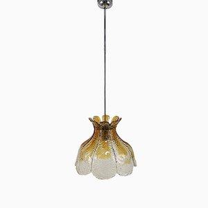 Lampe à Suspension Multicolore en Verre Murano par Carlo Nason pour Mazzega, Italie, 1960s