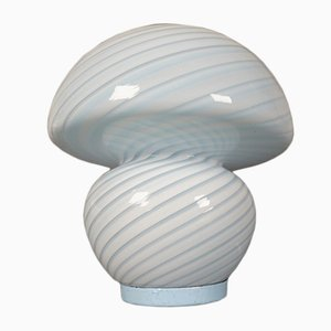 Lámpara de mesa de vidrio de Peill & Putzler, años 60