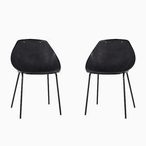 Shell Chairs by Pierre Guariche for Meurop, 1960s, Set of 2