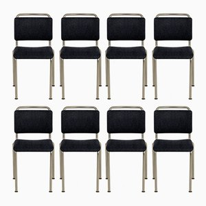 Customizable Model 106 Chairs from Gispen, 1960s, Set of 8